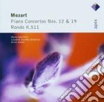 Mozart - Jordan - Pires - Apex: Piano Concerti Nn. 12 & 19 cd musicale di Wolfgang Amadeus Mozart