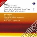 Spohr - Amoyal - Jordan  - Apex: Violin Concerto N.8 -sonata Per Cello E Arpa cd musicale di Spohr\amoyal - jorda