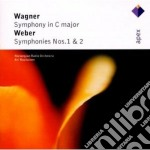 Wagner - Weber - Rasilainen - Apex: Sinfonia In Do - Sinfonie Nn. 1 & 2 cd musicale di Wagner - weber\rasil