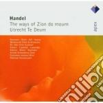 Handel - Gardiner - Harnoncourt - Apex: The Ways Of Zion Do Mourn - Utrecht Te Deum cd musicale di Handel\gardiner - ha
