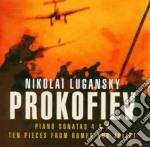 Prokofiev - Lugansky - Piano Sonate 4 & 6 - 10 Pezzi Da Romeo E Giulietta cd musicale di PROKOFIEV\LUGANSKY