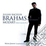 Violin concerto - violin concerto n. 3 k cd musicale di BRAHMS\RACHLIN - JAN