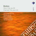Brahms - Dalberto - Amoyal - Lodeon  - Apex: Trii Op. 40 E Op. 114 cd musicale di Brahms\dalberto - am