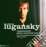 Rachmaninov - Lugansky - Oramo - Piano Concerti Nn. 2 & 4 cd musicale di RACHMANINOV\LUGANSKY