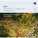 Bizet - Lombard - Apex: L'arlesienne Suites 1 & 2 - Sinfonia In Do cd musicale di Bizet\lombard