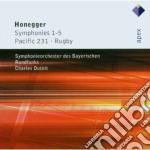 APEX: SINFONIE NN. 1 - 5 cd musicale di Honegger\dutoit
