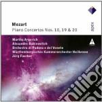 Mozart - Faerber - Argerich  - Apex: Piano Concerti N. 10 - 19 & 20 cd musicale di Mozart\faerber - arg