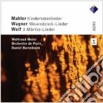 Mahler - Wagner - Wolf - Barenboim - Apex: Kindertotenlieder - Wesendonck Lieder cd musicale di Mahler - wagner - wo