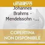 Brahms - Mendelssohn - Barenboim - Perlman - Yo Yo Ma - Apex: Doppio Concerto - Concerto Per Violino cd musicale di Brahms - mendelssohn