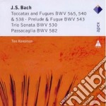 Bach - Koopman - Apex: Toccate E Fughe - Trio Sonata - Passacaglia cd musicale di Bach\koopman