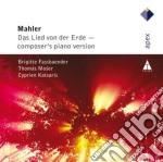 Apex: il canto della terra (piano versio cd musicale di Mahler\katsaris - mo