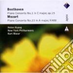 Beethoven - Mozart - Masur - Huang - Apex: Piano Concerti N. 1 Op.15 & N. 23 K488 cd musicale di Beethoven - mozart\m
