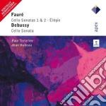 Gabriel Faure' - Debussy - Tortelier - Hubeau - Apex: Sonate Per Violoncello cd musicale di Faure - debussy\tort