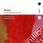 Rossini - Scimone Claudio-solisti Veneti - Apex: 6 Sonate Per Archi cd musicale di Clau Rossini\scimone