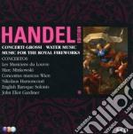 CONCERTI GROSSI-WATER MUSIC               cd musicale di HANDEL\MINKOWSKI-GAR