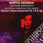 Mozart - Piano Concertos 10,19And20 - Martha Argerich cd musicale di Arge Mozart\faerber-