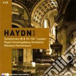 Haydn edition vol. 4: le sinfonie londin cd musicale di HAYDN\HARNONCOURT (B