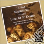 Bach - Handel - Harnoncourt - Concentus Mw - Daw 50: Magnificat Bwv 243 - Te Deum Hwv 278 cd musicale di Bach - handel\harnon