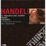 Handel edition vol. 2: trionfo - teseo - cd musicale di Mu Handel\minkovsky-