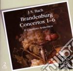 Daw 50: concerti brandeburghesi 1-6 cd musicale di BACH\IL GIARDINO ARM
