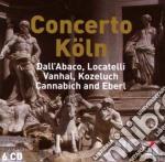 Dall'abaco - locatelli - vanhal - kozelu cd musicale di Koln Vari\concerto