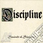 SAINTS & SINNERS cd musicale di DISCIPLINE