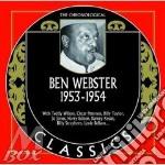 1953-1954 cd musicale di WEBSTER BEN
