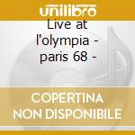 Live at l'olympia - paris 68 - cd musicale di Hendrix experience jimi
