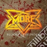 More - Blood & Thunder cd musicale di More