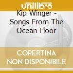Songs from the ocean flood cd musicale di Winger Kip