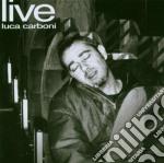 LUCA CARBONI LIVE (2CDx1) cd musicale di Luca Carboni