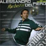 THE BEST OF ALESSANDRO DEL PIERO + DVD cd musicale di DEL PIERO ALESSANDRO
