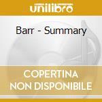 Barr - Summary cd musicale di BARR