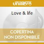 Love & life cd musicale di Arnold Jarvis