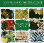 Various - Taste Of India cd musicale di Dinner party destination