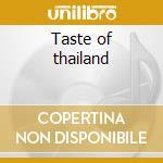 Taste of thailand cd musicale di Dinner party destination