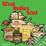 West Indies Soul  Volume 1 cd musicale di Artisti Vari