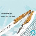 Thelonious Monk - Live In New York   Vol 1 cd musicale di THELONIOUS MONK