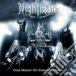 One night of insurrection cd musicale di NIGHTMARE