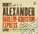 Monty Alexander - Harlem - Kingston Express: Live cd musicale di Monty Alexander