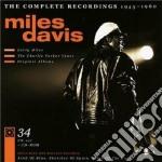 The complete recordings 1945 - 1960 cd musicale di Miles Davis