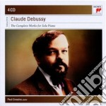 Debussy: complete works for solo piano cd musicale di Paul Crossley
