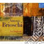 Vanni Moretto - Brioschi - 6 Sinfonie - Archivio Della Sinfonia Milanese Vol. 1 cd musicale di Vanni Moretto