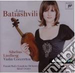 Sibelius , Lindberg - Concerti Per Violino - Lisa Batiashvili cd musicale di Lisa Batiashvili