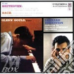 BACH CONCERTO N. 1-  BEETHOVEN CONCERTO cd musicale di Glenn Gould