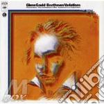 BEETHOVEN VARIAZIONI PER PIANO cd musicale di Glenn Gould