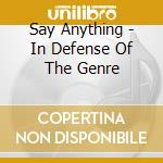 In defense of the genre cd musicale di Anything Say