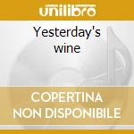 Yesterday's wine cd musicale di Willie Nelson