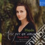 Nuria Rial - Haydn - Arie Per Un'amante cd musicale di Nuria Rial