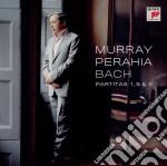 Bach partite n.1,5 e 6 cd musicale di Murray Perahia